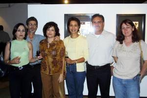 Alicia Valle, Octavio Acuña, Irma Pérez, Mayela Ramírez, Omar de la Garza, y Blanca García de Alba