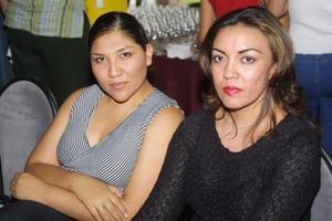 Ixchelk Moreno y Nelly Trejo.