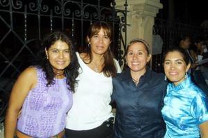 Laura Velázquez, Elizabeth Espinoza, Ionne Villarreal y Ana Sofía García Camil.