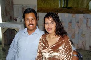 Miguel Ángel y Joanis Chávez en pasado festejo social.