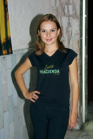 Señorita Martha García captada en pasado acontecimiento social
