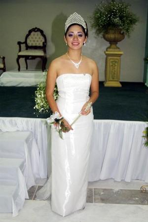 Srita. Adriana Flores Ramos, reina del Club de Leones de Gómez Palacio.