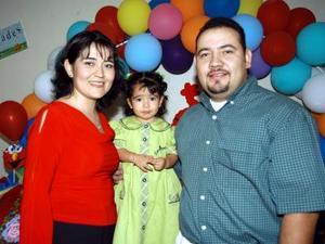 Sara Isabel Parra Artea festejó su segundo cumpleaños, es hija de los señores Rubén Parra y Sara Lucila Artea de Parra.