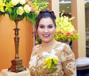 Dra. Martha Margarita Aguado Arzola en su despedida de soltera.
