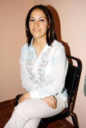 Maribel Ramírez Haro disfrutó de una despedida de soltera.