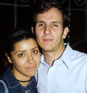 Niria Gabriela Ramos y Luis García.