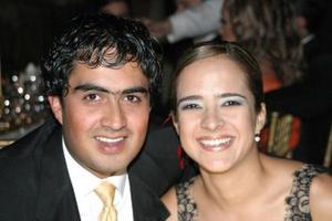 <u>23 octubre</u> <p>  Manuel Luévanos y Alejandra Villalobos.