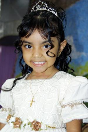 <u>23 octubre</u><p>  Valeria Castañeda Salazar en la fiesta de cumpleaños que le ofreciero por sus tres años de vida.