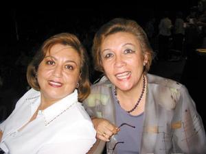 Ángeles Balcázar y Velina de Murra.