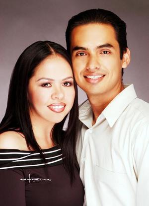 Édgar Muñoz y María Luisa Hernández contrajeron matrimonio el 25 de octubre.