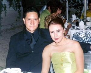 Érik Ludwin Cano Robledo y Silvia Patricia Garay Contreras contrajeron matrimonio el 25 de octubre
