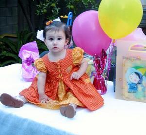 Ana Cristina Ochoa Villalobos captada el día que celebró su primer año de vida.