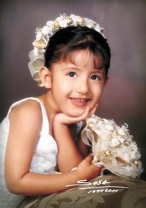 Niña Karen de Santiago Saucedo celebró sus tres años de vida con una misa de acción de gracias en la parroquia de Nuestra Señora de la Virgen del Perpetuo Socorro.