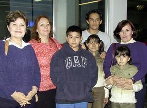 <u> 28 de octubre </b> <p> Regresaron a sus lugares de origen, Araceli y Rubén Montiel; Mónica y la familia Montiel.
