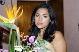 <u> 27 de octubre </u> <p> Señorita Diana Monserrat Luna García en su primera despedida de soltera.