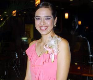 -Jéssica Benítez Zambrano en su primera despedida de soltera.