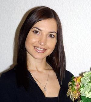 <u> 29 de octubre </u> <p> Señorita Brenda Arizpe de Garza en la despedida de soltera que le ofrecieron por su próximo matrimonio con Roberto Moreno Rodríguez.