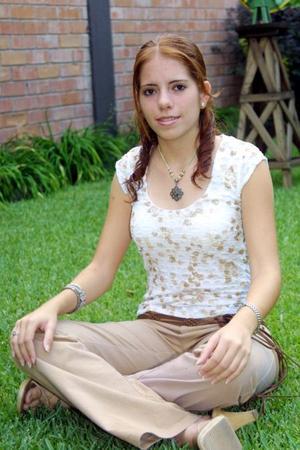 Nury Quintero Cuerda, reina del Club Campestre Torreón.