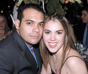 <u> 28 de octubre </u> <p> Víctor Navarro y María Elena Cedillo.