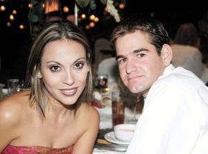 Mónica del Río y Joaquín Hamdan.