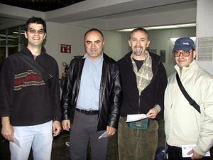 <u>30 de octubre </u><p> Retornaron a la Ciudad de México, Miguel González, Ricardo Gallardo, Alfredo Bringas y Raúl Luján.