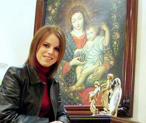 Lupita Estrada Villarreal contraerá matrimonio el 15 de noviembre con Omar Álvarez Sagredo.