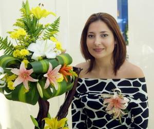 Por su próximo matrimonio fue despedida de su soltería la señorita Gabriela Villanova Ponce.