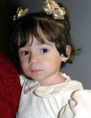 La pequeña María Luisa Canive Cruz festejó su  segundo cumpleaños con un agradable convivio.