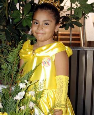 La pequeña Samantha Ofelia Luján Córdova festejó sus seis años de vida con una divertida fiesta.