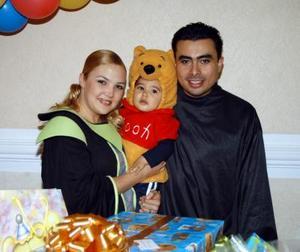 Santiago Adolfo cumplió un año de vida; es hijo de los señores Gustavo Adolfo Juárez y Adriana González de Juárez