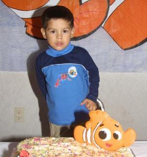 <u> 07  de noviembre </u> <p> Rogelio Borrego Rodríguez en la fiesta que le prepararon sus padres con motivo de sus tres años de vida.