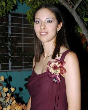 <u> 06 noviembre </u> <p> Maura Alicia Escajeda Reza disfrutó de una despedida de soltera.