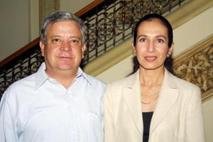 Gerardo Katsikas Ramos y María Salomé Elyd de  Katsikas.