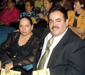 Juan Ceballos Azpe y Rosalía Pérez Verti de Ceballos.
