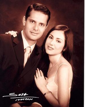 Lázaro Balandra Laguero y Guadalupe Díaz de León Maisterrena contrajeron matrimonio el ocho de noviembre.