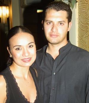 <u> 08 de noviembre </u> <p> Valeria Correa y Octavio Durán.