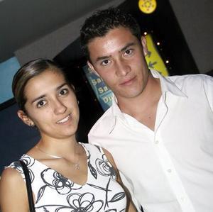 Daniela Garibay y Felipe Medina.