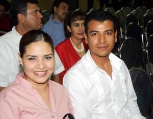 María de los Ángeles Burciaga y Luis Manuel Canales Aguilar.