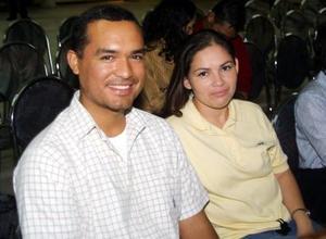 Omar Sánchez y Maribel Oropeza.