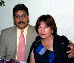 Martín Candelas Rangel y Carmen Anaya de Candelas.