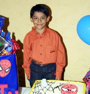 Joaquín Barraza Rosales festejó en fechas pasadas sus seis años de vida con una divertida fiesta