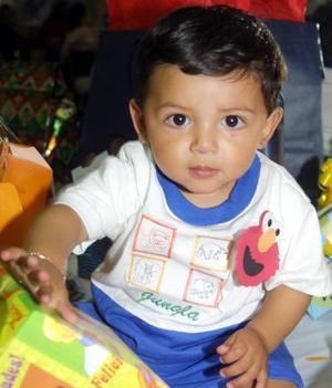 Por su primer cumpleaños festejaron al niño Érik Ricardo Maqueda Islas, es hijo de Érik Islas Reyna y Érika Maqueda de Islas.