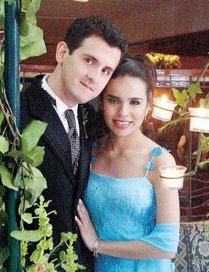 <u> 11 de noviembre </u> <p> Marco Hernández Sordo y Alejandra Villarreal Padilla.