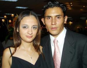 Paola Sánchez y Emmanuel Márquez.