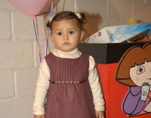 Andrea Rendón Orduña fue festejada por sus dos años de vida con una divertida fiesta organizada por sus padres.