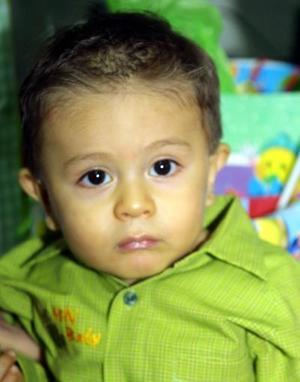 Christian Giovanni Morán Barrios fue festejado por sus padres con una divertida fiesta, con motivo de su cumpleaños