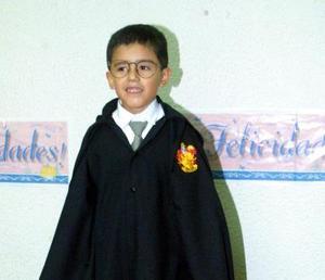 <u> 14 de noviembre 2003 </u> <p>  Mauricio Slavador Prieto Durán en el festejo qeu le organizaron sus padres por sus siete años de vida