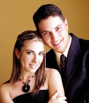Julio González y Dolores Mora.