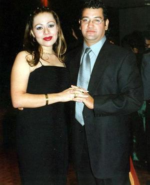 Lydia Hernández y Alberto Salazar.