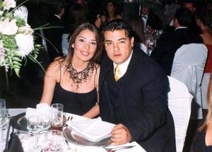 Mónica Barba y Ramiro Enríquez Máynez.